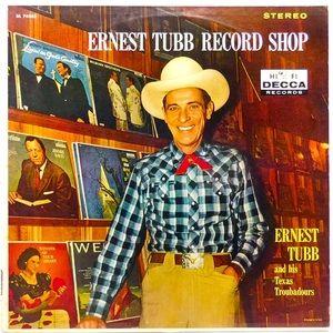 VTG 1960 Ernest Tubb vinyl LP record